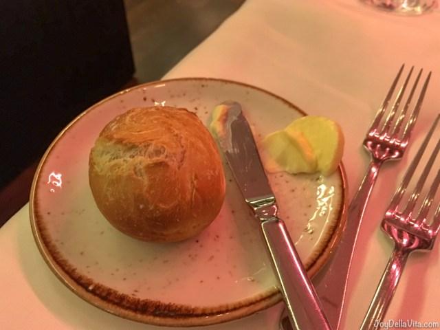 Bread Roll with butter Restaurant Berchtesgaden Kempinski
