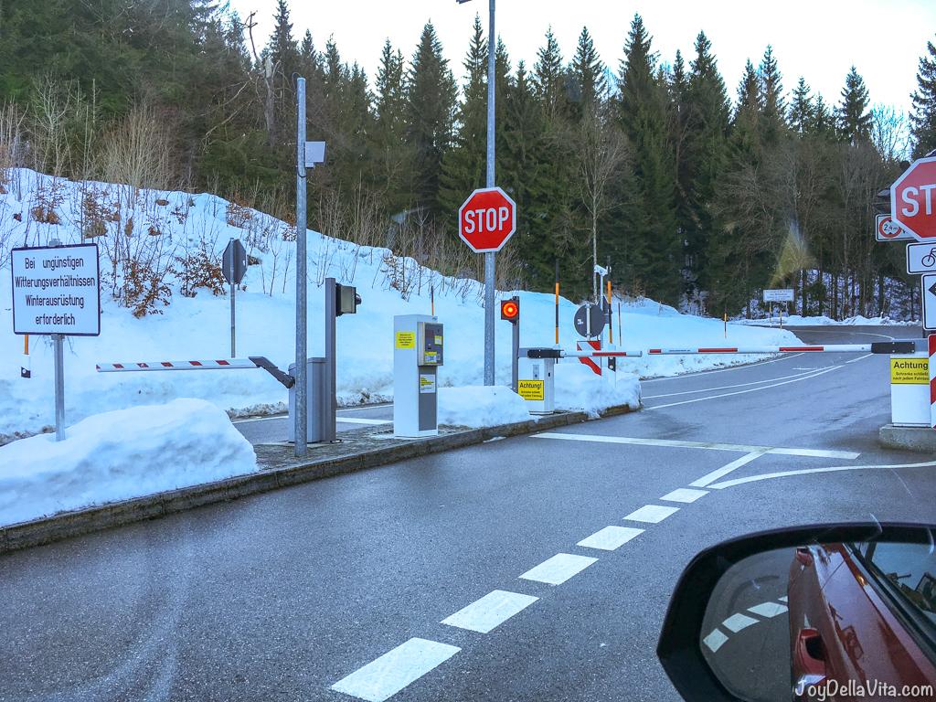 Southern Toll Station Obersalzberg Rossfeld Panoramastrasse Bercchtesgaden