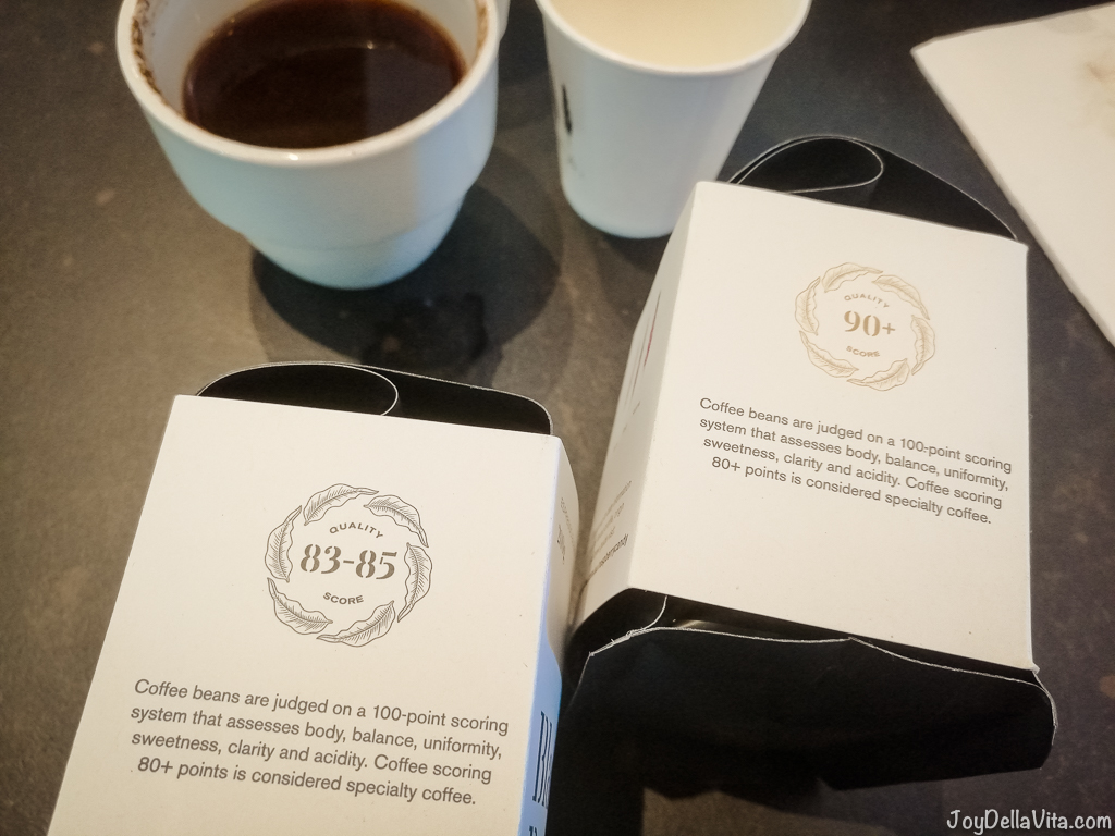 The Cupping Room Canberra Coffee Cupping Session ONA Coffee JoyD