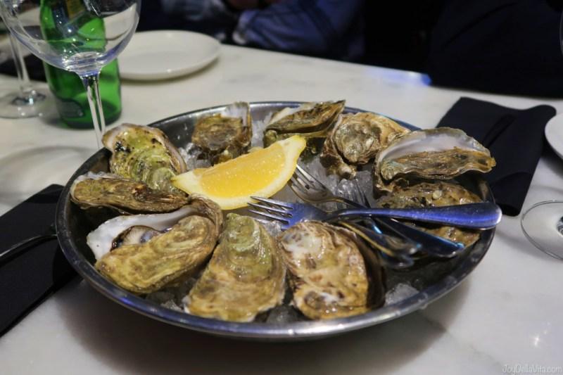 fresh Oysters in Donostia San Sebastian at KATA4 Oyster Bar
