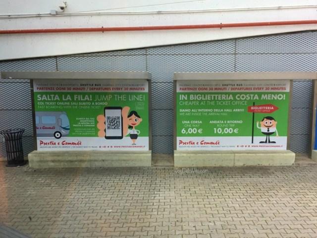 Palermo Airport Bus Shuttle