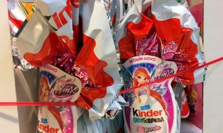 kinder easter eggs gigante maxi italy supermarket