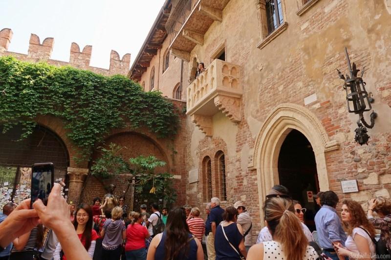 Balcony at Casa di Giulietta Verona
