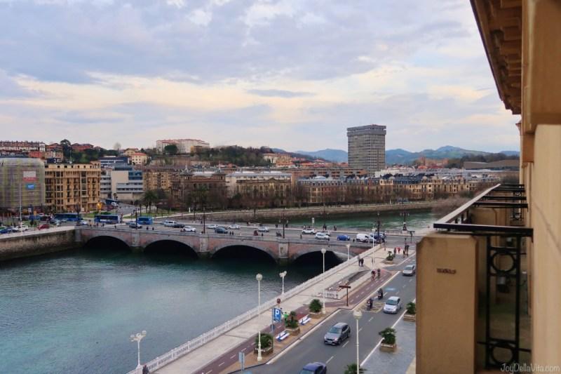 Hotel Room River View from Hotel Maria Cristina San Sebastian
