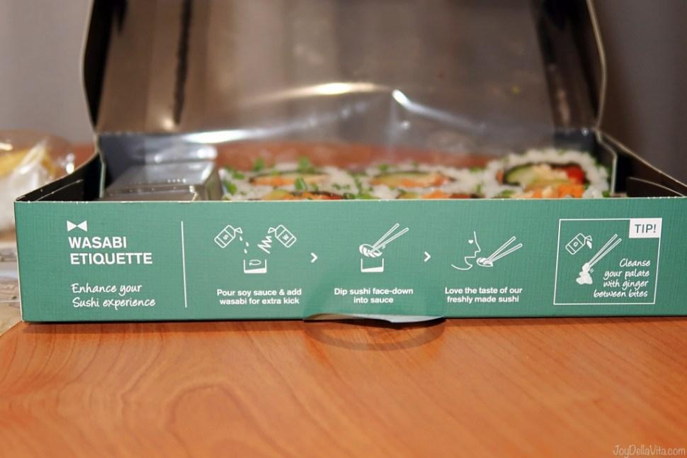 Hot to eat Sushi, by Wasabi UK