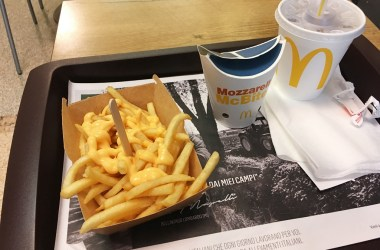 McDonalds Italy Vegetarian Fast Food Vegetariano
