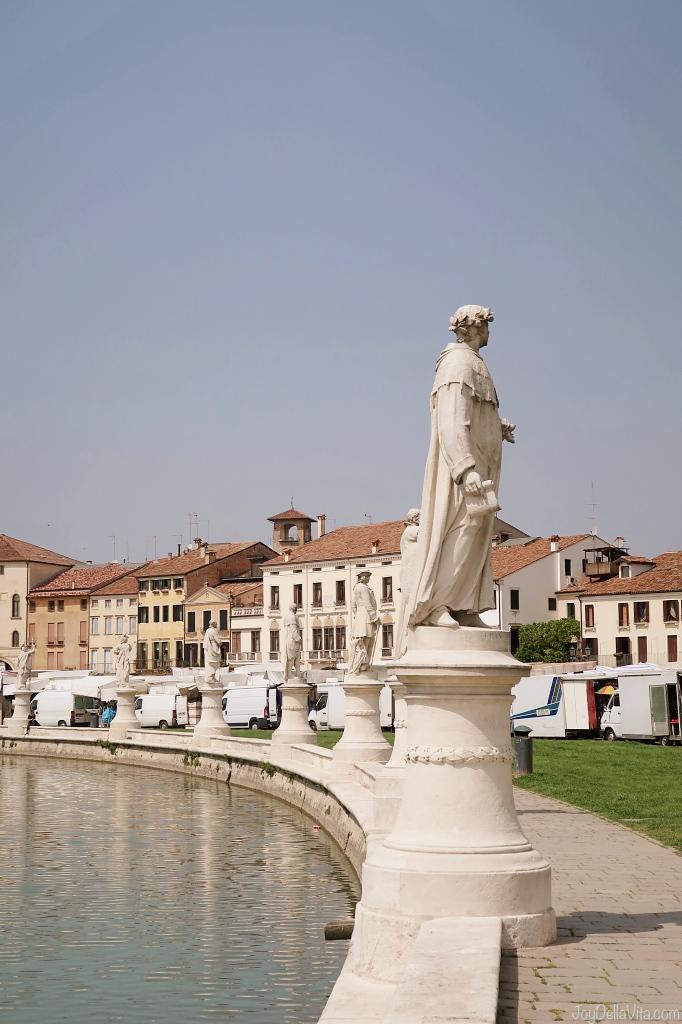 Prato della Valle Padua Padova Statues Travel Blog