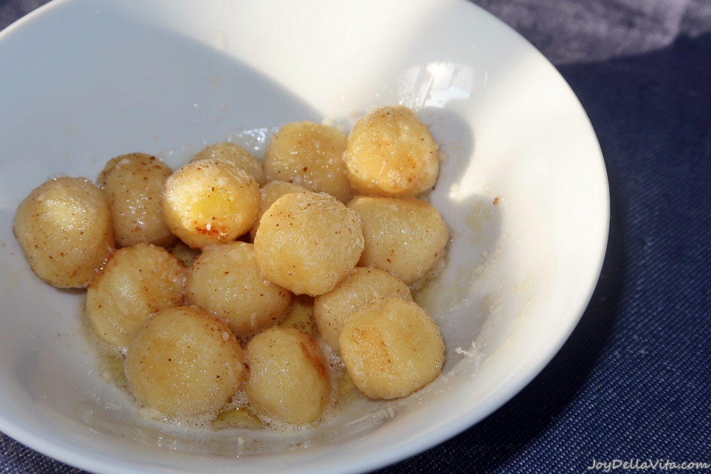 Recipe Gnocchi di Verona brown butter parmesan joydellavita