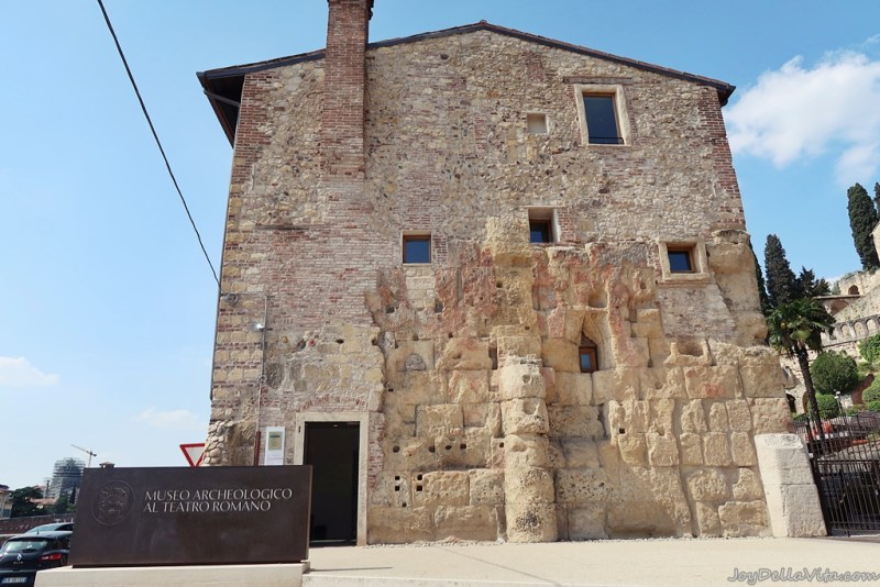 Entrance to Teatro Romano di Verona & Archaeological Museum