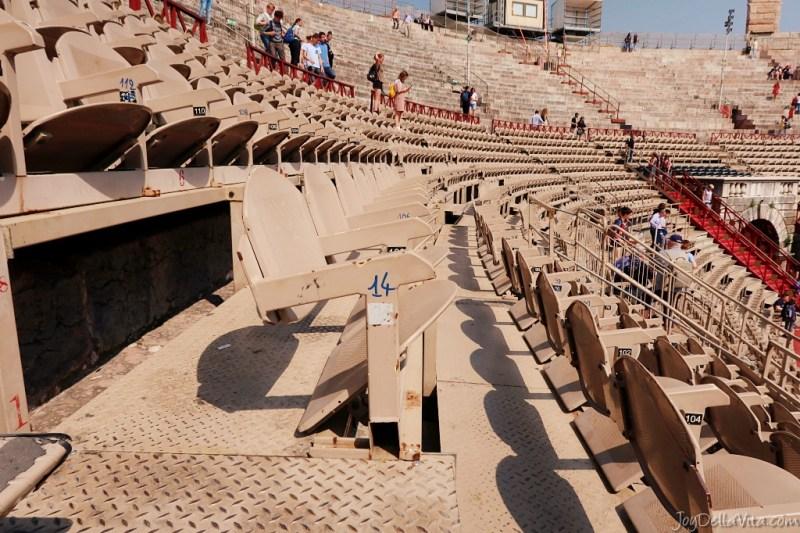 seats Arena di Verona concert theatre opera