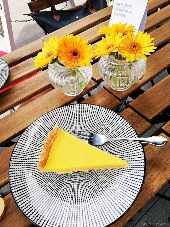 Lemon Tart at Cafe Karamell Friedrichshafen