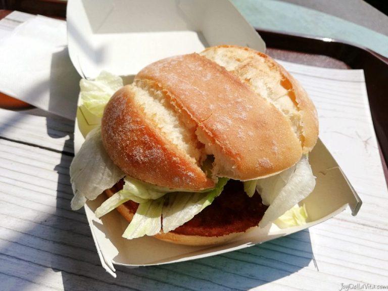 Review: Quinoa Curry, the new vegetarian McDonald's Switzerland Burger