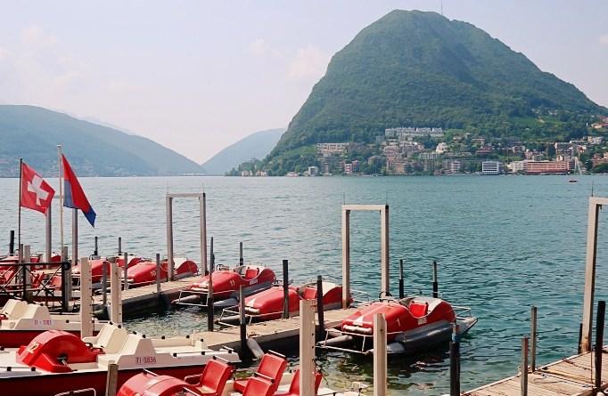 Prices Boat Rental Lugano Lake Lugano Pedalo Travel Blog JoyDellaVita