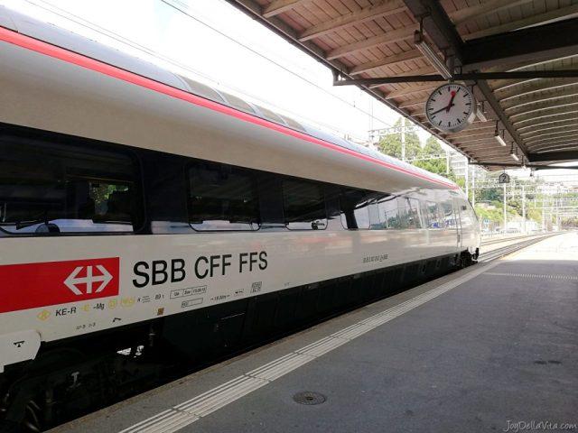SBB EuroCity in Lugano