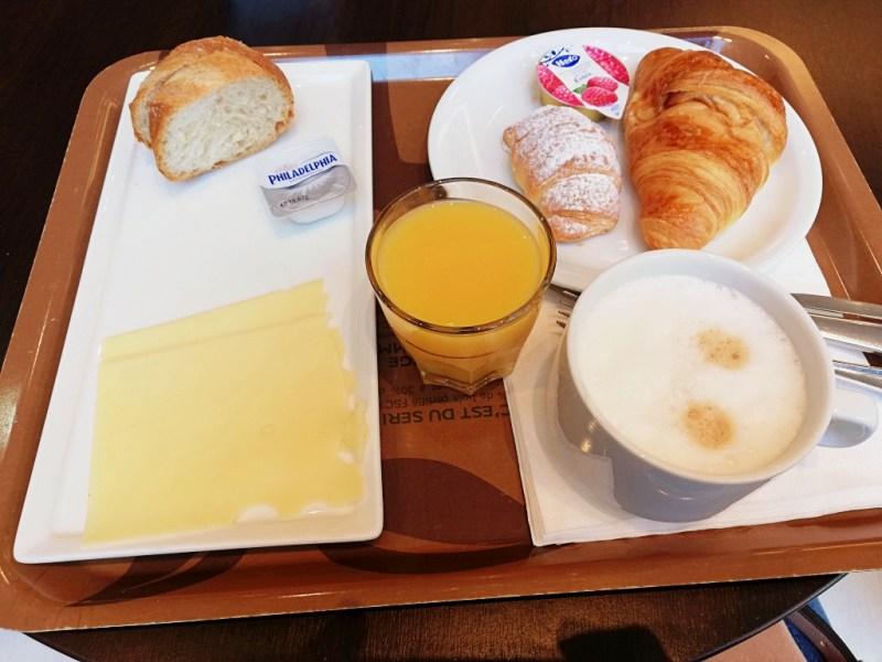 Breakfast at ibis Lugano Paradiso
