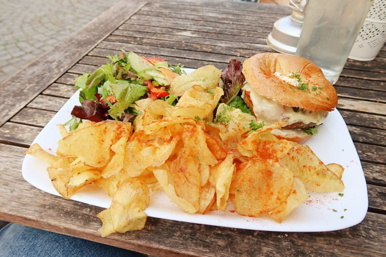 Vegetarian Lunch in Lindau at Großstadt Cafe / Bar / Restaurant
