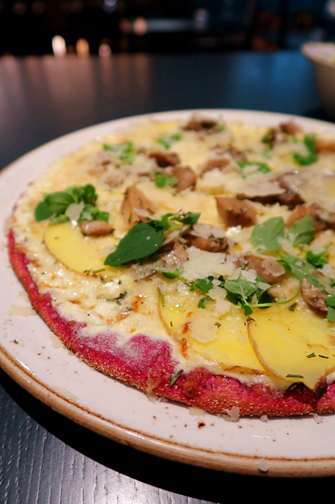 Pink Pizza Hamburg Restaurant Rock Our Kitchen ROK review blog joydellavita