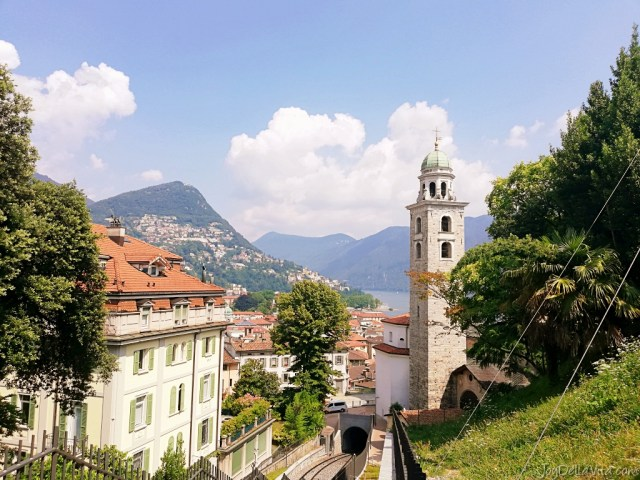 view lugano train station