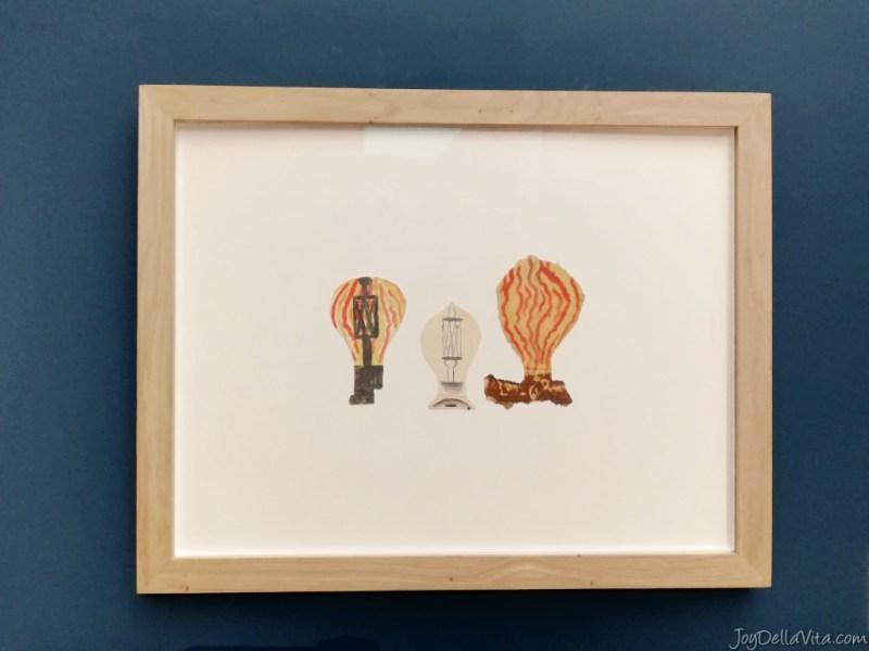 """PABLO PICASSO elements d'étude pour """"portrait de jeune fille"""": ampoules"""
