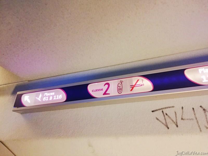 2nd clas TGV