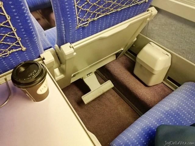 Duo seats in the TGV 2nd class