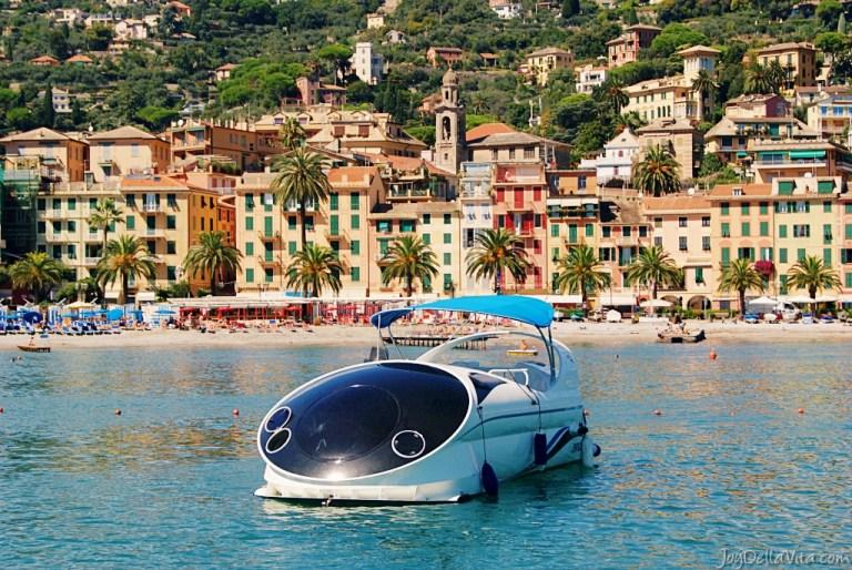 Taking a Boat to Portofino from Rapallo