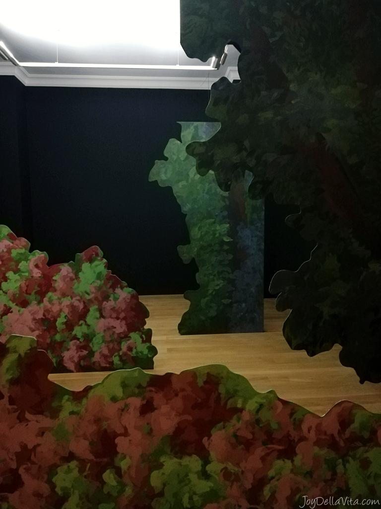 Latifa Echakhch - le jardin mécanique Art Museum Villa Sauber Monaco NMNM