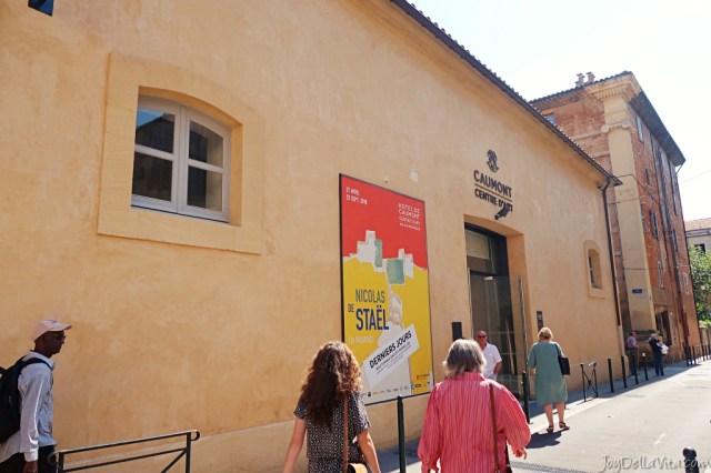Hôtel de Caumont Aix en Provence Nicolas de Staël french travel blog review