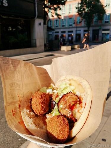 best Falafel in Nice - Nice Falafel Shop french travel blog