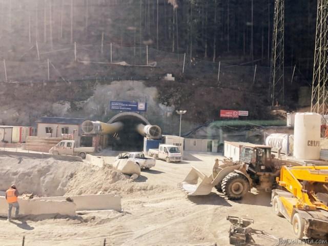 Construction Brenner Base Tunnel South Tyrol travelblog joydellavita