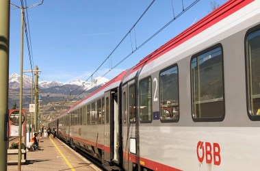 EuroCity Train Innsbruck Brixen South Tyrol