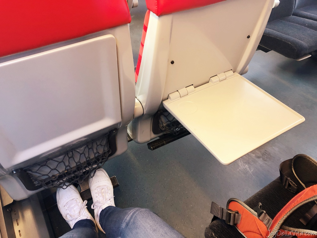 OEBB REX Train Lindau Bregenz Germany to Austria