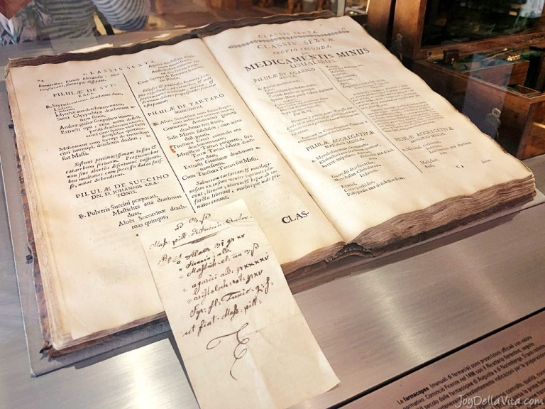 a visit to Pharmacy Museum in Brixen Bressanone in South Tyrol