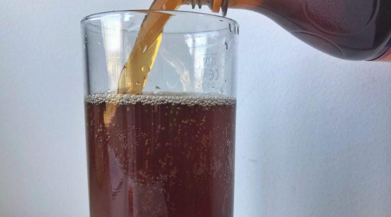 Spezi german mix drink Cola Fanta Orange lemonade