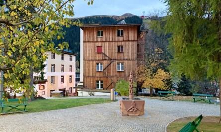 Davos language Graubuenden blog joy della vita
