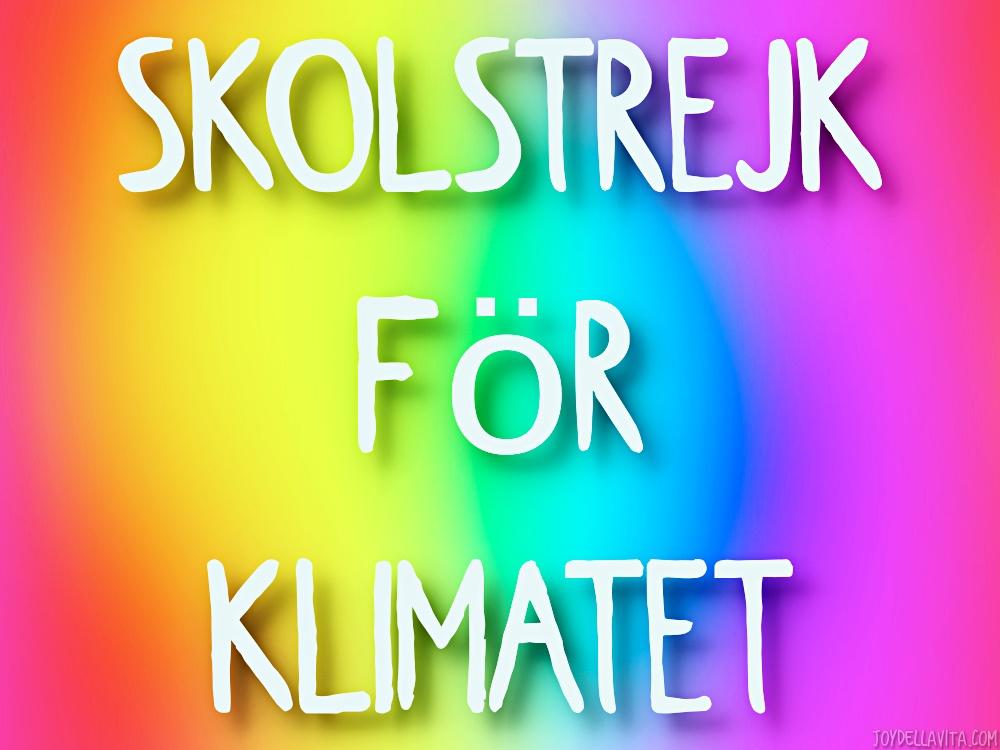 Skolstrejk för klimatet Greta Thunberg font