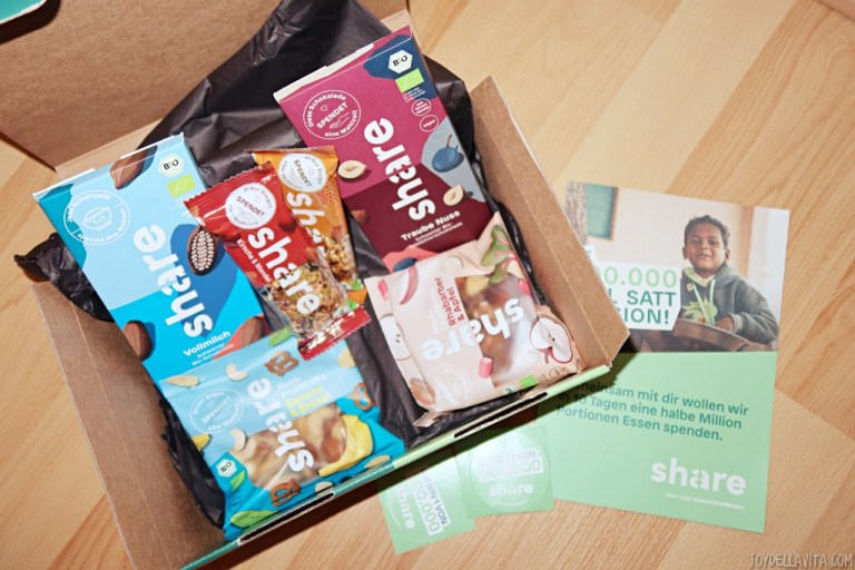 buy one share one – share box on the occasion of the World Food Day 2019