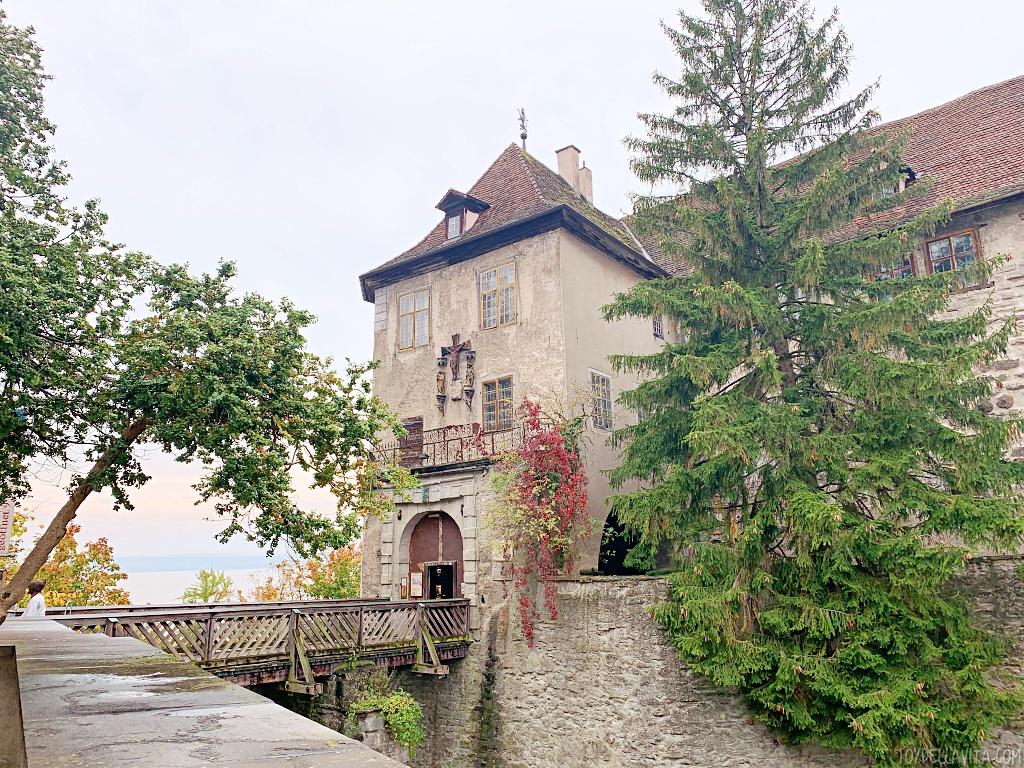 burg meersburg old castle medieval museum