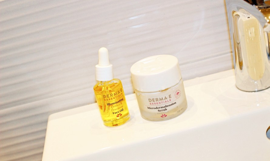 Travel Beauty Duo by Derma-E: Face Oil and Scrub