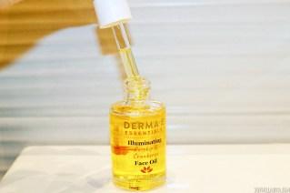DERMA E lluminating face oil