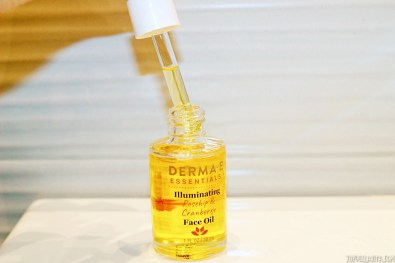 DERMA E lluminating face oil