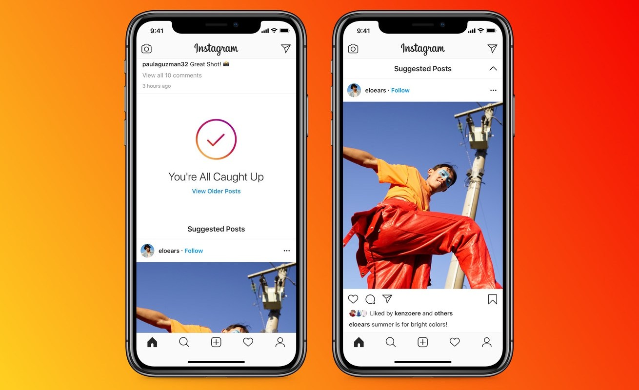 Instagram Suggested Posts new feature summer 2020