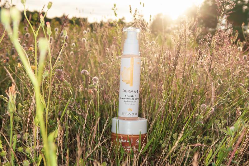 DERMA E Vitamin C Concentrated Serum Vitamin C Instant Radiance Citrus Facial Peel blog joydellavita