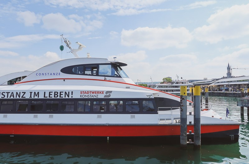 Special price Autumn fare ticket on the Lake Constance Catamaran