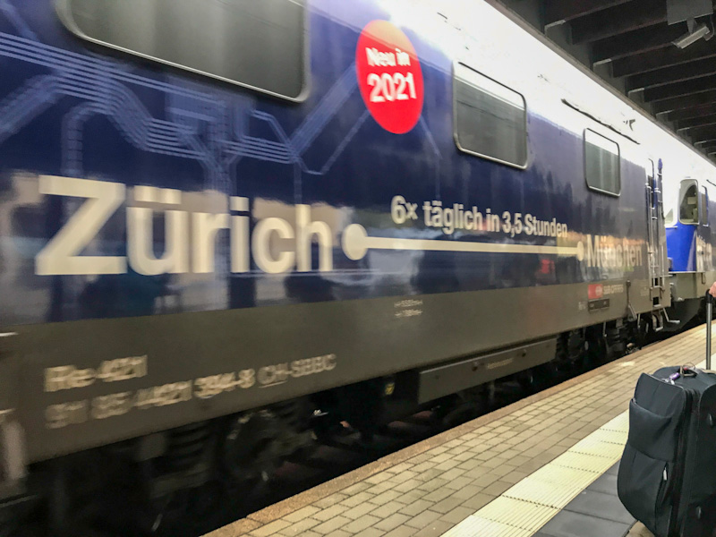 Soon up from 2021: Zurich to Munich in just 3,5 hours