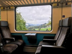 SBB EuroCity Zurich Lindau Munich second class train review blog joydellavita