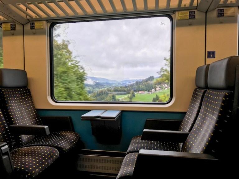 Taking the SBB EuroCity Train from Lindau to Munich in 2nd class – Review