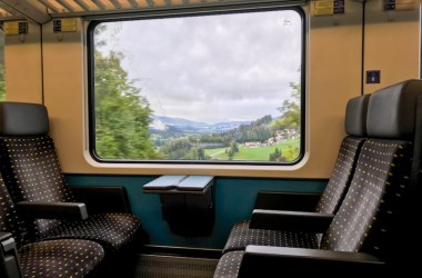 SBB EuroCity Zurich Lindau Munich second class train review blog joydellavita