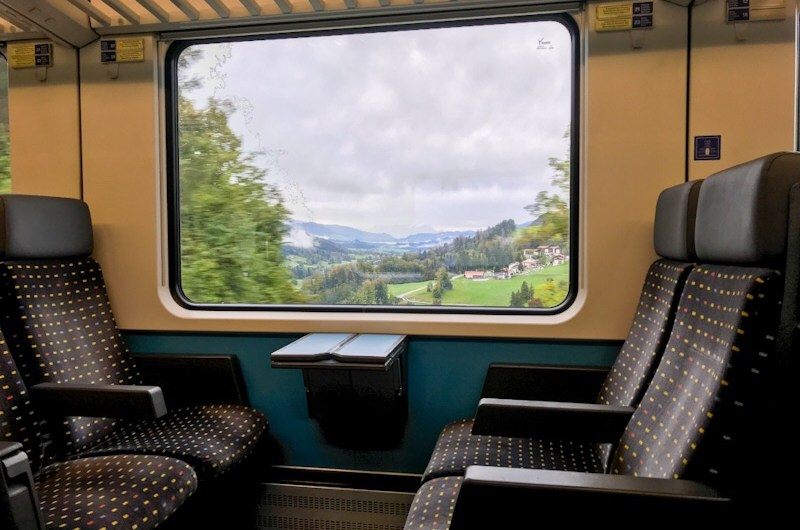 Taking the SBB EuroCity Train from Lindau to Munich in 2nd class – Review