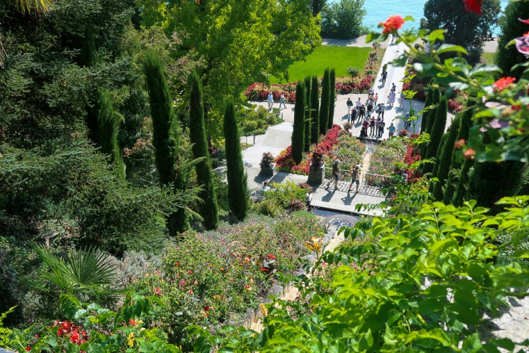 How to travel to Mainau Flower Island in Lake Constance